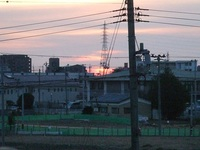 富沢駅周辺にも新しい年が来ました