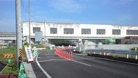 富沢駅の下を道路が抜けました