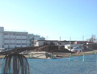 富沢駅周辺の工事が進んでいます
