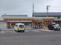 富沢駅東のミニストップ
