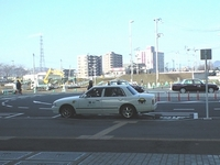 地下鉄富沢駅のタクシー