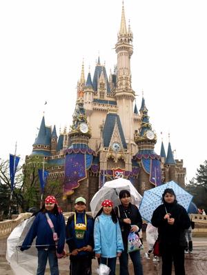 嵐の東京ディズニーランド