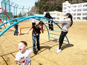 湊小学校訪問(その1)