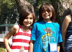 ビーバー村の子どもたちの東京観光。