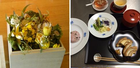 平井かずみさんの『春を迎える花教室』は3月7日に終了しました
