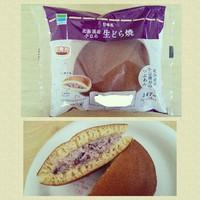 コンビニの北海道産小豆の生どら焼