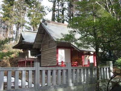 初詣は『鷲倉神社』に行きました。