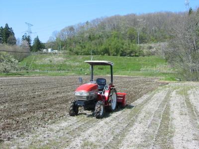今年も田耕しがんばりました。