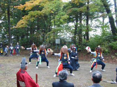昨日、11月3日は『鷲倉神社』例大祭の日でした。