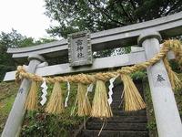 今年の「雷神社例大祭」は雨が降りました。