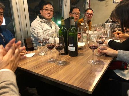 ワイン会 テイスティング 試飲会 仙台 オガーレ