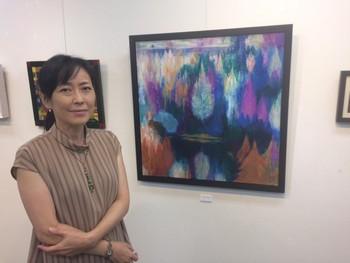 前川 裕子 個展  「TOHOKU NO  MORI」 スタート!