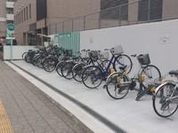 泉中央駅ビル駐輪場 『ヒューモスサイクルパーク』は、通勤、通学、泉中央でのお買い物に便利です!