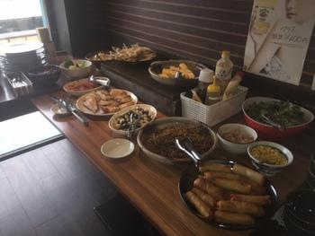 スウィングキッチン「梵天食堂」のランチバイキング!