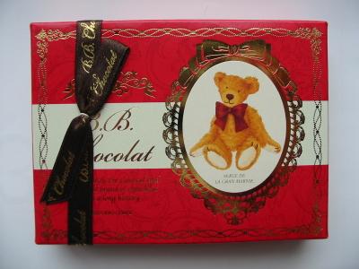 バレンタインデーでチョコをもらったよ。
