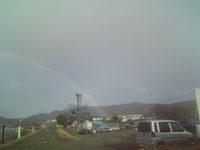今な~ん時? 虹♪