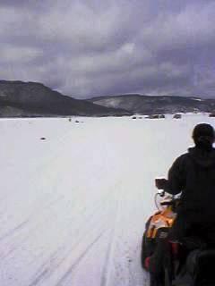 福島 桧原湖 氷上ワカサギ釣り大会