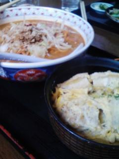 磐梯熱海 熱海食堂でランチというか昼飯