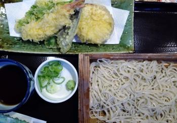 お蕎麦~(^o^)