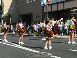 石巻バーガーとパレード