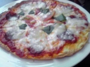 ピザです(^o^)