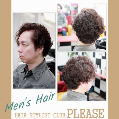 【メンズヘアー】大人の魅力を引き立てる☆ハンサムウェーブヘアー♪【春ヘアー】プリーズ☆加川