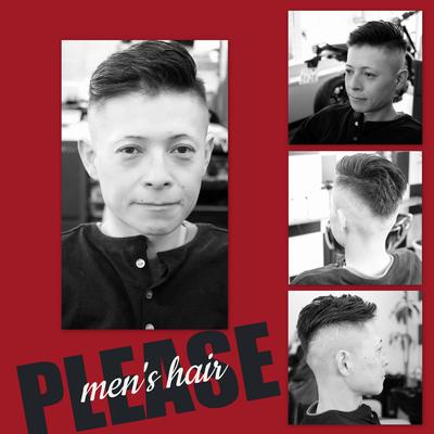 【メンズヘアー】ポンパドールでスタイリッシュにきめよう! プリーズ☆加川