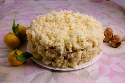 ●● お花のクリームケーキ ●●