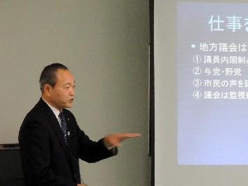 鎌田礼二の議会報告会