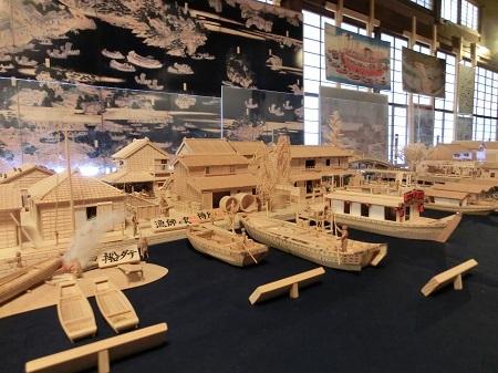 『江戸木造和船細工展』