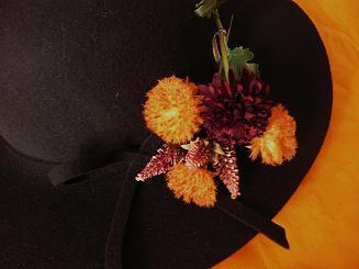 秋色の花盛り*