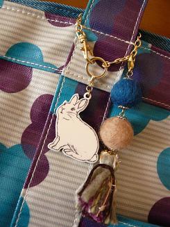 アリスの小物 バッグチャーム*
