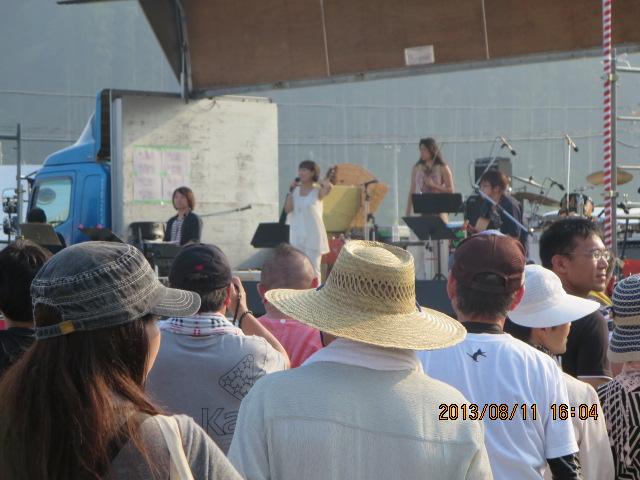 歌津復興・夏祭り