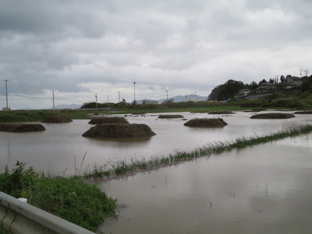 台風26号通過