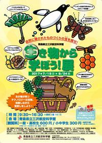 夏の特別企画展「生き物から学ぼう!展」が開始される。