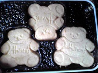 くまさんクッキー。