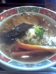 やき根魚ラーメン