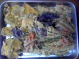 天ぷらです。