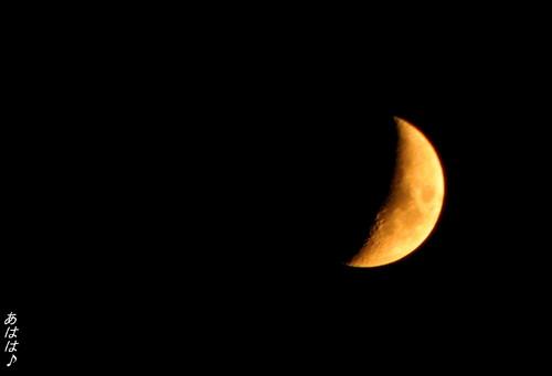 仙台七夕の月と太陽と☆あはは~♪