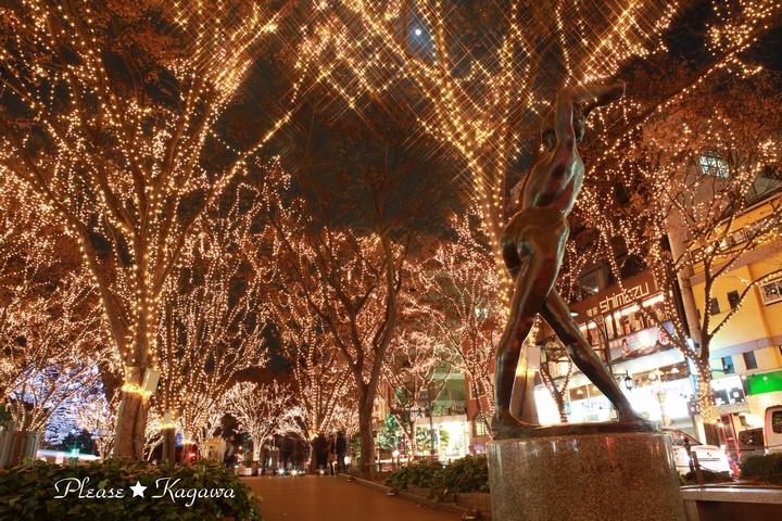 2011SENDAI光のページェント復興の光!プリーズ☆加川