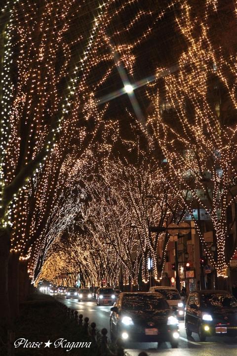 2011SENDAI光のページェント(月の光)プリーズ☆加川