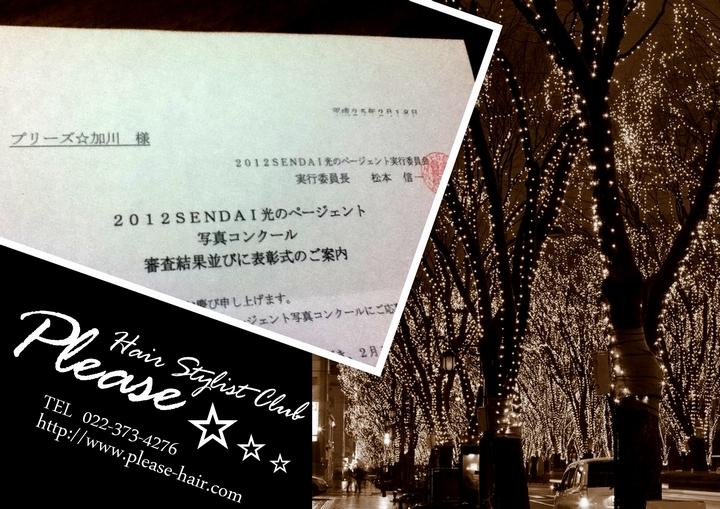 2012光のページェント写真コンクールで賞!プリーズ☆加川