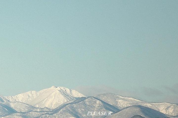 仙台市泉区から見える山々風景☆  プリーズ☆加川