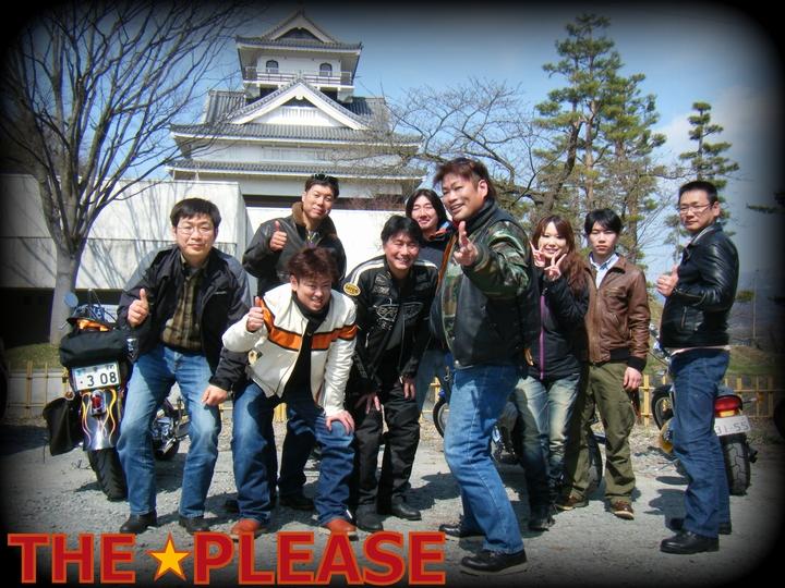 伊達の騎馬隊☆桜の上山ツーリング編! プリーズ☆加川