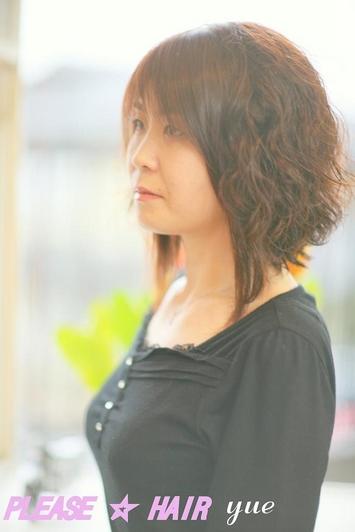 イメチェ~ン! 春髪 PLEASE☆HAIR 天空模様