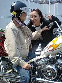 友情美笑顔☆俺のオートバイ!!