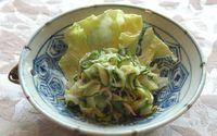 ◆ ズッキーニの胡麻風味サラダ ◆