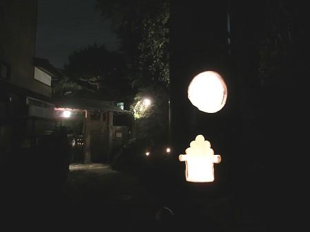 亀井邸活動記録 『月見カフェ2012』