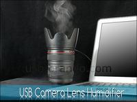 カメラレンズっぽいUSB給電式ミニ加湿器