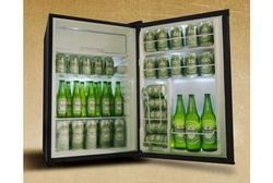 マーシャルのアンプっぽい冷蔵庫。ちと欲しいかも